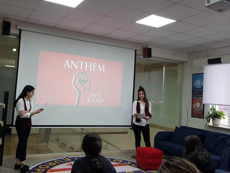 Conference of the students from AHS (11)