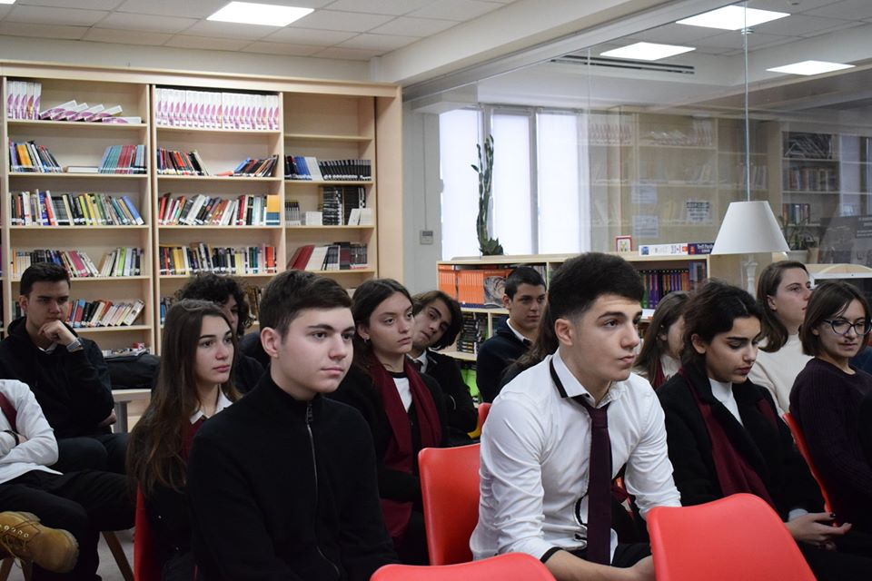 Conference of the students from AHS (2)