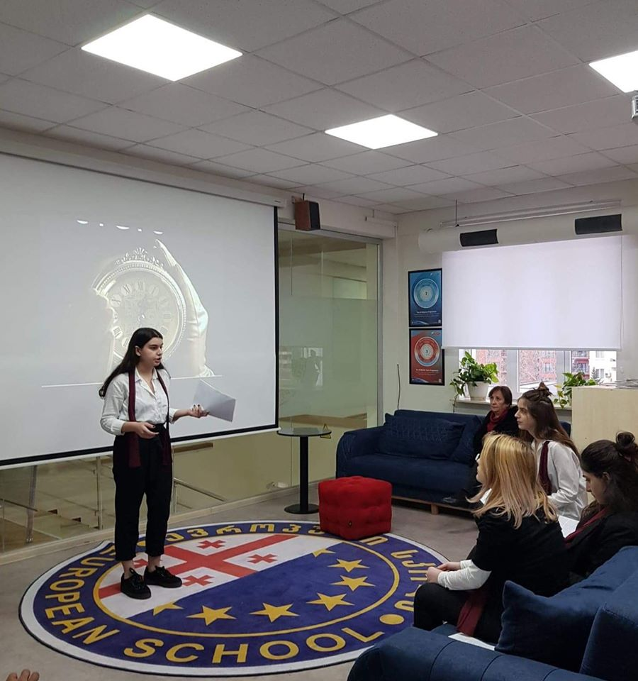 Conference of the students from AHS (3)