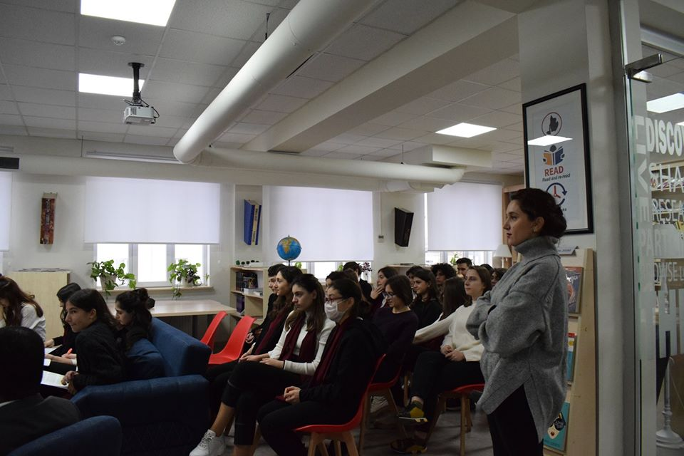 Conference of the students from AHS (8)