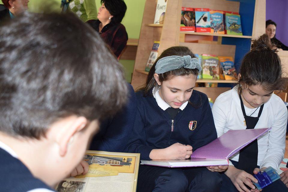 World Read Aloud Day Hosted by Giorgi Kekelidze (2)