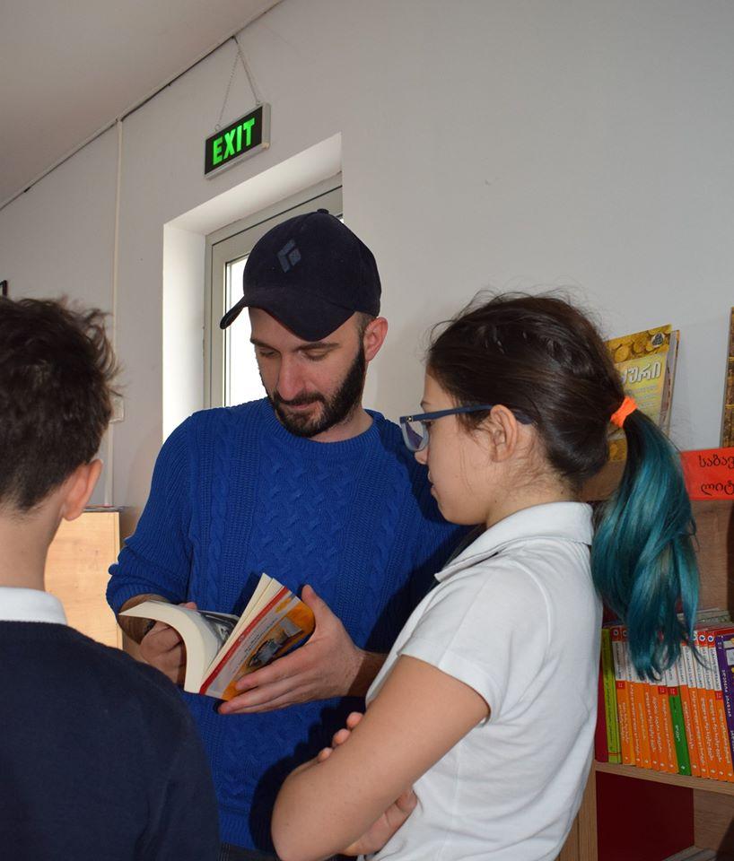 World Read Aloud Day Hosted by Giorgi Kekelidze (4)