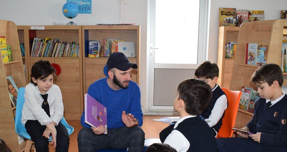 World Read Aloud Day Hosted by Giorgi Kekelidze (6)